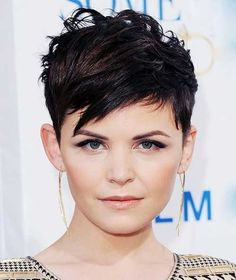 9.Pixie Haircut for Round Faces