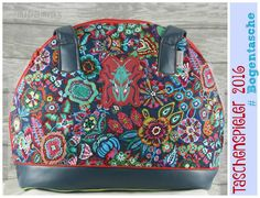 Taschenspieler3 - Bogentasche Vera Bradley Backpack, Backpacks, Sew, Fashion, Handmade Bags, Sew Simple, Travel Tote, Arch, Pouch
