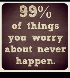 No reason to worry