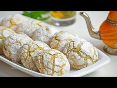 Reteta culinara Ghriba – Fursecuri marocane cu susan (video) din categoria Prajituri. Specific Maroc. Cum sa faci Ghriba – Fursecuri marocane cu susan (reteta video)