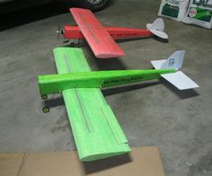 This Instructable will show how to build light-weight, electric versions of a couple of classic R/C airplanes quickly and cheaply using some simple methods. Other than a very simple hot wire foam cutter, which I will show, there are no special tools required. Using these techniques and materials, it should be cheap and quick enough that you can easily experiment with your own versions of your favorites and test many different designs with varying configurations of airfoils, wing dihedral…