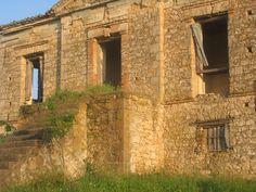 Old building, memories Lasteika Ilias, Greece