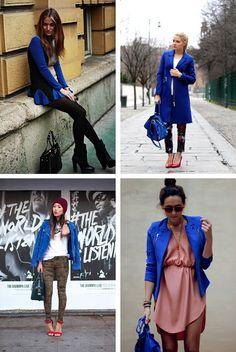 Cobalt Blue outerwear