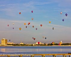 Balloon Fest this morning over Clear Lake Texas; sept 28, 12