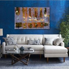 Oliver Gal 'Cristal on Crystal' Canvas Art | Overstock.com Shopping - Top Rated The Oliver Gal Artist Co. Canvas