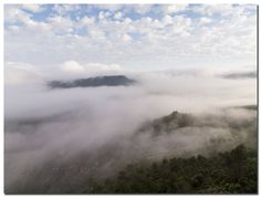 En un mar de nubes