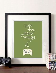 Cute for the XBox lover's room or the family game room!  Verizon #Techoration Contest Entry.