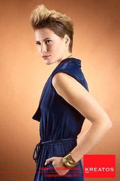 Kreatos kapsels voor vrouwen 2015 - Brown Sugar - haar kort bruin