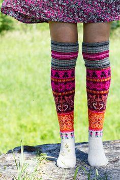 Knee Socks, Knitting Socks, Leg Warmers, Projects To Try, Crochet, Island, Inspiration, Travel, Fashion