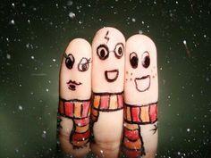 Funny Finger Face