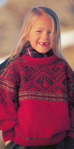 Dale of Norway--Mette N. Handberg--Thunder Bay Children's Patterns (ages 2 - 12)