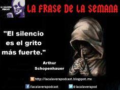 """""""El silencio es el grito mas fuerte"""" Shopenhauer"""