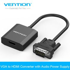 >> Click to Buy << Vention VGA to HDMI Converter Cable Adapter with Audio 1080P VGA HDMI Adapter for PC Laptop to HDTV Projector #Affiliate