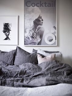 Duvet day in this Swedish bedroom?!