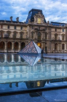 The Louvre, Paris, France. I have to wander through here for a couple or three days... I have to, someday!