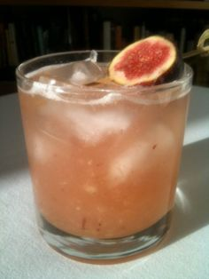 Love In The FIG City:  (by Tomas Delos Reyes of the Standard Hotel, NYC)        2 oz. Partida Reposado Tequila      1/2 oz. Fresh lemon juice      1/2 oz. Ginger Liqueur      1/2 oz. Cinnamon syrup      3/4 oz. Fig puree or half a fresh fig      Mionetto Brut Prosecco    Muddle, shake and fine strain over ice into a rocks glass. Top with Mionetto Brut Prosecco and garnish with a fresh fig wheel.