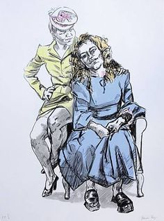 History of Art: Paula Rego, Mother with Big Daughter