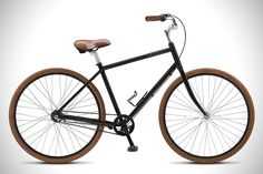 PRIORITY BICYCLES Diamond. 99% of people who ride a bike will never be doing 100K rides or speeding down mountains. Or want to spend a minute fixing or tinkering their wheels. Hassle-free and good enough is the new black: Upright comfortable seating position, grease-free BELT DRIVE, 3-speed internal hub with internal braking, puncture-resistant tires. Thank you Dave Weiner.