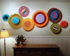 wall decor, glass sculpture