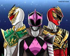 Power Rangers: Shattered Grid | Lord Drakkon, King Tyranno, Ranger Slayer - Artist: Tinh Hung Vo Tran #∆∆shani