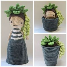 Flora, the Succulent - Crochet Pattern by {Amour Fou} - Flora, the Succulent - Crochet Pattern by {Amour Fou} - # . X stricken xstricken Amigurumi Flora, the Succulent - Crochet Pattern Caron Cake Crochet Patterns, Caron Cakes Crochet, Crochet Diy, Love Crochet, Amigurumi Patterns, Amigurumi Doll, Crochet Dolls, Knitting Patterns, Ravelry Crochet