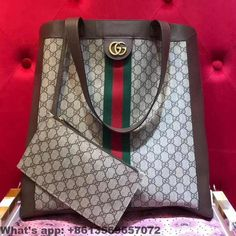 e28003d708f0 Gucci Ophidia soft GG Supreme large tote 519335 2018 #Guccihandbags