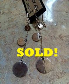 #sold #sterlingsilver #earrings #sale #bohochic #longearrings #jewelry #jewellery #pickup #cash