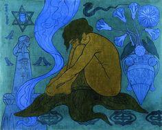 Paul Ranson - The Sibyl, 1891.