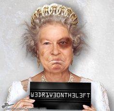 La Reine d'Angleterre dans tous ses états...