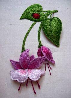 Fabulous Fushia - Embellish Embroidery