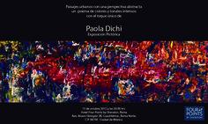 Paola Dichi capta momentos, vivencias de distintos lugares del mundo donde busca reflejar las emociones que le evocan sus recuerdos.