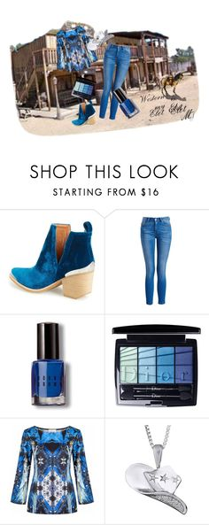 """Western style 2."" by gabriella-bagdine-meszaros on Polyvore featuring Old West, Jeffrey Campbell, Barbour International, Bobbi Brown Cosmetics and Christian Dior"