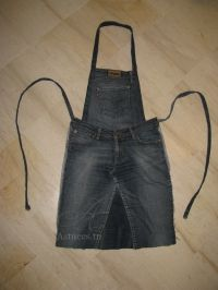 Ideas diy easy sewing projects old jeans Jeans Recycling, Recycle Jeans, Diy Jeans, Jean Crafts, Denim Crafts, Jean Diy, Mode Jeans, Denim Ideas, Sewing Aprons