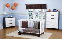 Babyletto Modo 3 Piece Crib Set in Two Tone Finish | My Urban Child -