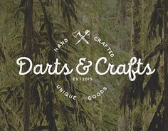 "Check out new work on my @Behance portfolio: ""Darts&Crafts - Logo"" http://be.net/gallery/43011305/Darts-Crafts-Logo"