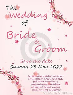 Illustration about Wedding invitation card with flowers, and dividers, ideal for weddings. Pink and grey colors. Illustration of invitation, card, editable - 111707508 Grey Colors, Wedding Invitation Cards, Dividers, Pink Grey, Bride Groom, Save The Date, Place Card Holders, Weddings, Illustration
