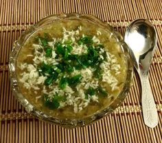 Vegetable  Soup with Crispy Rice