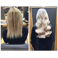 Instant & epic hair makeover from @kateelloydd  Using our Salon Pro Range!! #hair #extensions