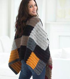 Petrona Crochet Poncho