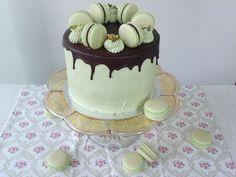 Pistáciový dort - Víkendové pečení Cake Art, Food Art, Cheesecake, Cupcakes, Pizza, Blog, Cupcake Cakes, Art Cakes, Cheesecakes