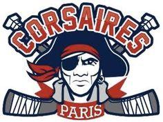 Hockey Logos, Paris, Logo Design, Fictional Characters, Ideas, Pirates, Montmartre Paris, Paris France, Fantasy Characters