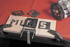 Mlcs Dish Cutters V Groove Sign Lettering Router Letter Template Set