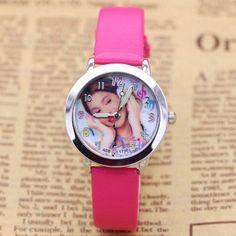 Fashion Brand Children Violetta Quartz Watch Kids Watches For Boys Girls Students Cute Wrist Watches New Clock Kids
