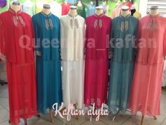 Kaftan alyla  IDR 160.000 Bahan hycon ceruty (transparant) Ukuran all size fit to xl