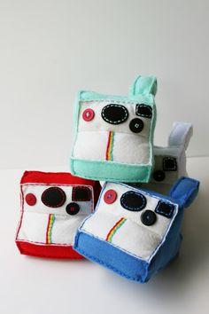 polaroid camera.