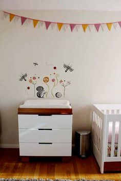 The best part about decorating a nursery is the opportunity to let loose and have some fun — let your creativity flourish, visit homecraftsdiy.com for more tips