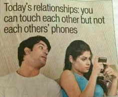 Smartphone Humor | Today's #Relationships | Funny Technology - Community - Google+ via Vanessa C