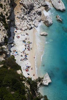 Cala Goloritze beach, Italy