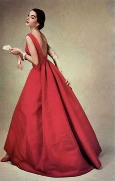 Red Givenchy 1956 - the original version of the dress i will wear on the wedding i will be attending next weekend :D