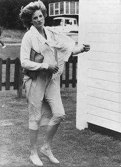 Princess Diana Rare Original Press Photo Right Before William Was Born